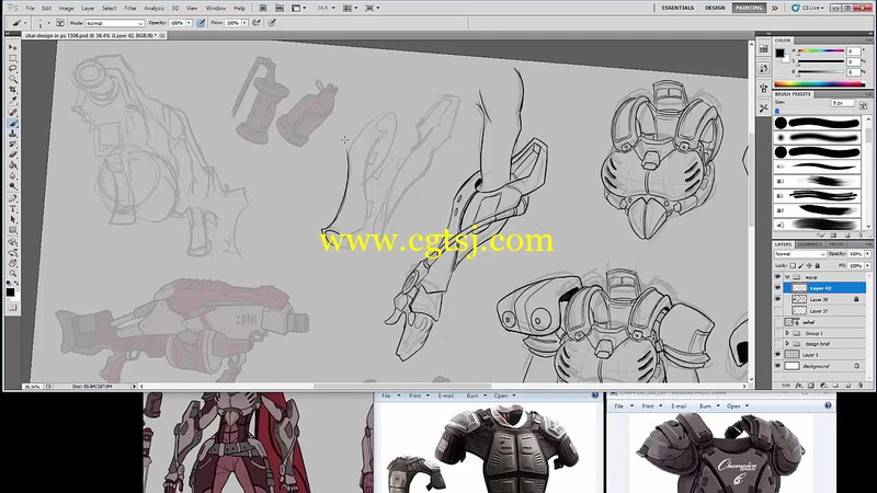游戏角色设计绘画实例训练视频教程第二季的图片2