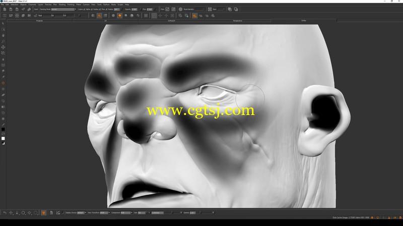 真实皮肤纹理制作大师级训练视频教程的图片3