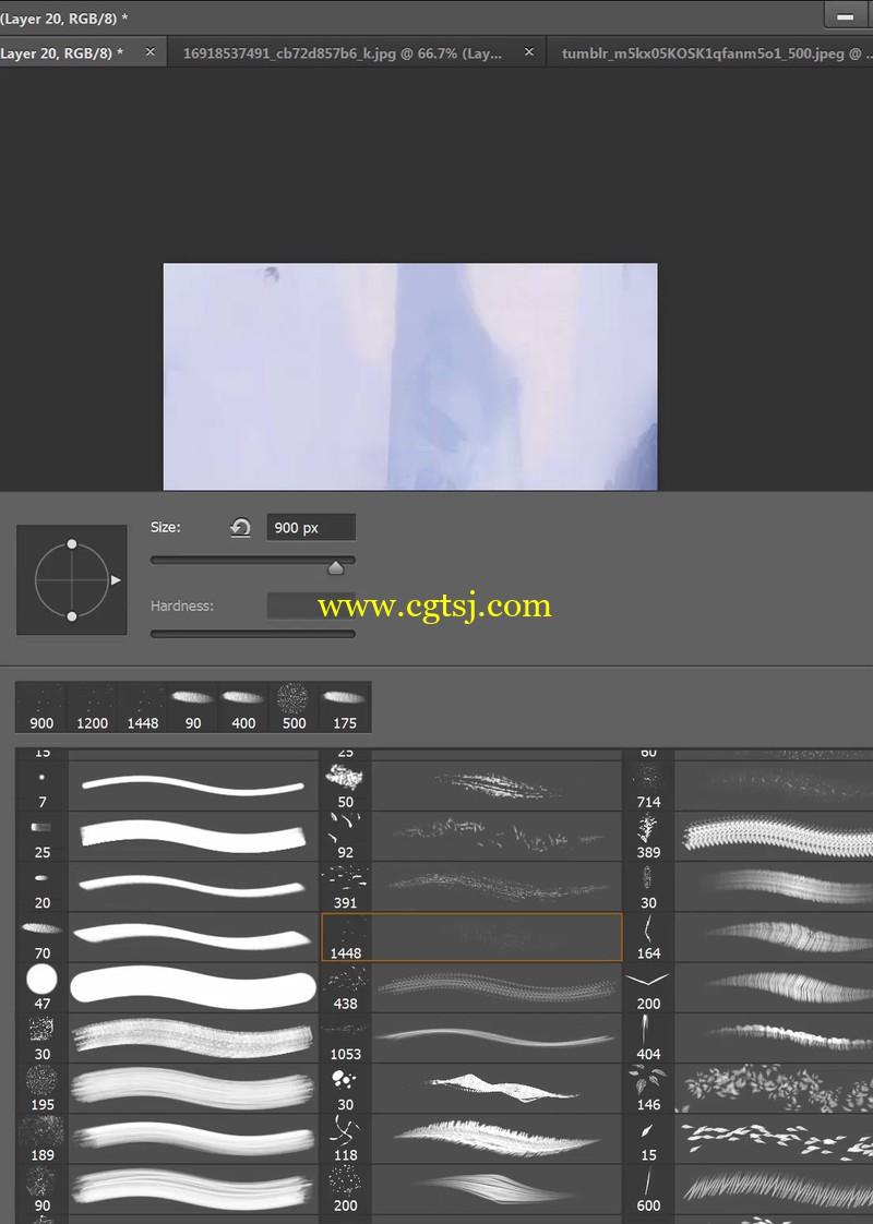 超赞大师级人物与环境绘画视频教程的图片1