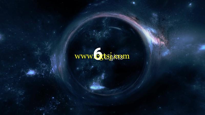 Blender星球宇宙空间视觉特效实例制作视频教程的图片3