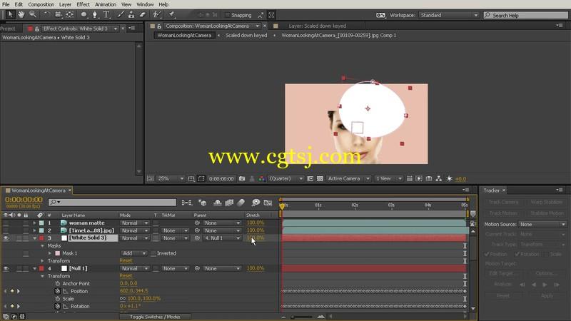 AE跟踪遮罩视频教程的图片2