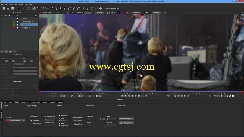 After Effects和Mocha Pro高级影视特效视频教程的图片2