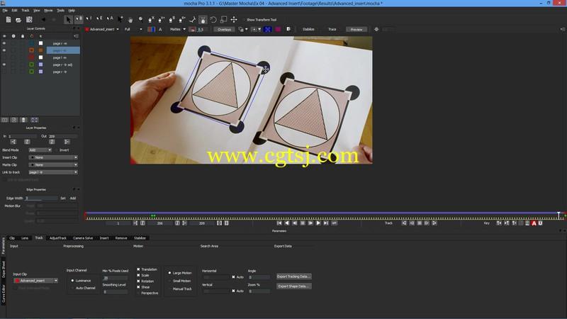 After Effects和Mocha Pro高级影视特效视频教程的图片3