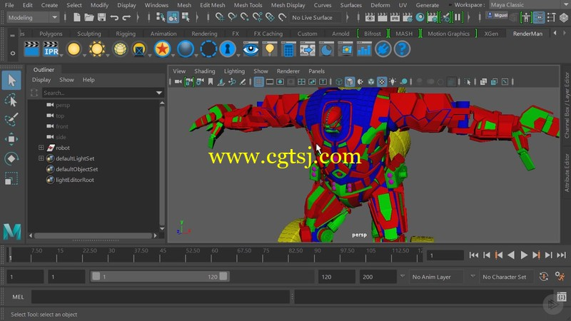 Katana与RenderMan协同工作技术视频教程的图片1