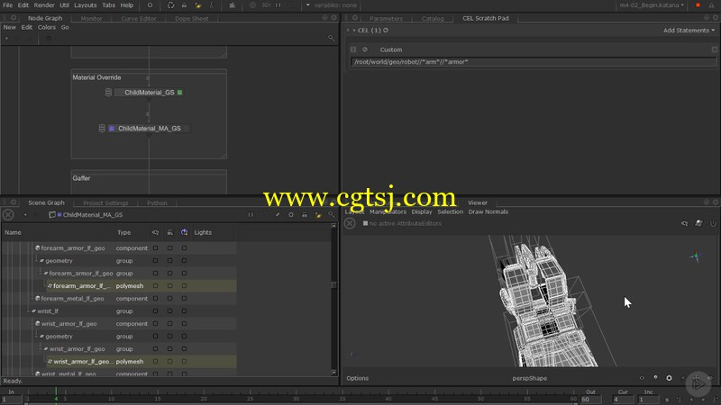 Katana与RenderMan协同工作技术视频教程的图片2