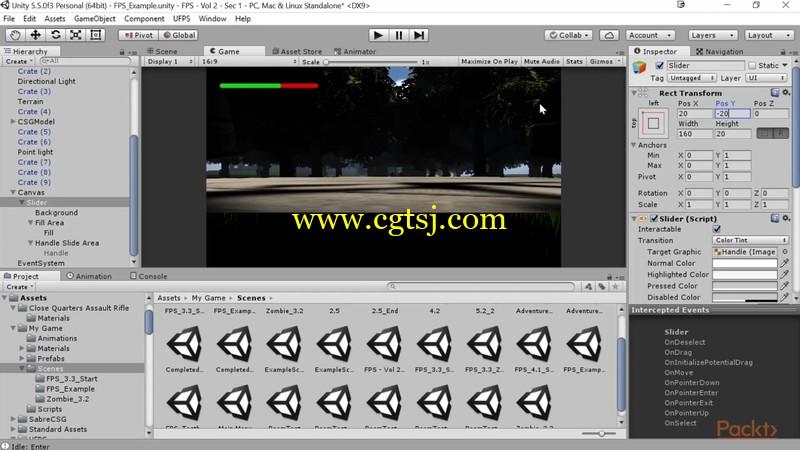 Unity与UFPS框架射击游戏制作视频教程的图片2