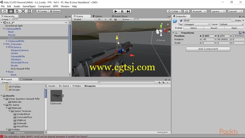 Unity与UFPS框架射击游戏制作视频教程的图片3