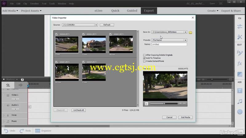 Premiere Elements 2018视频编辑核心技术视频教程的图片2