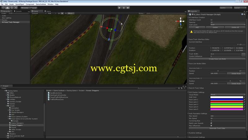 Unity超经典赛车游戏大师级完整实例制作视频教程的图片2
