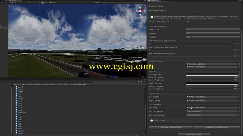 Unity超经典赛车游戏大师级完整实例制作视频教程的图片3