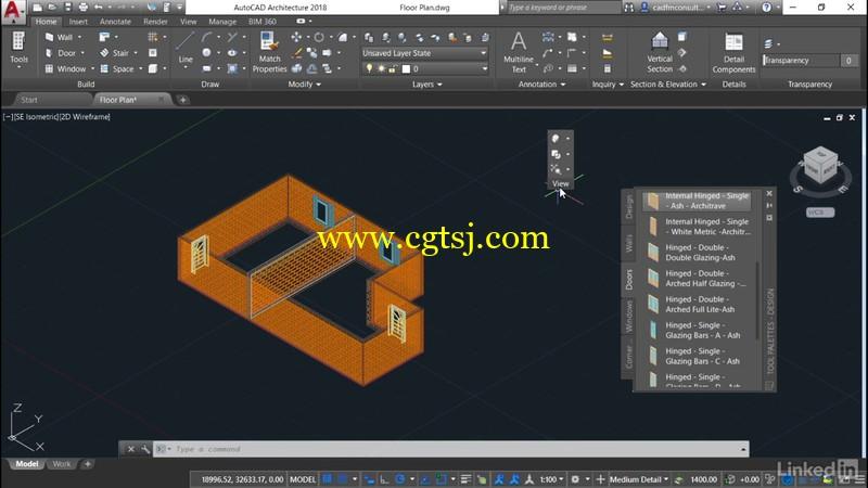 AutoCAD Architecture全面核心技术训练视频教程的图片2