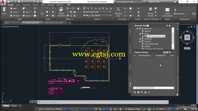 AutoCAD Architecture全面核心技术训练视频教程的图片3