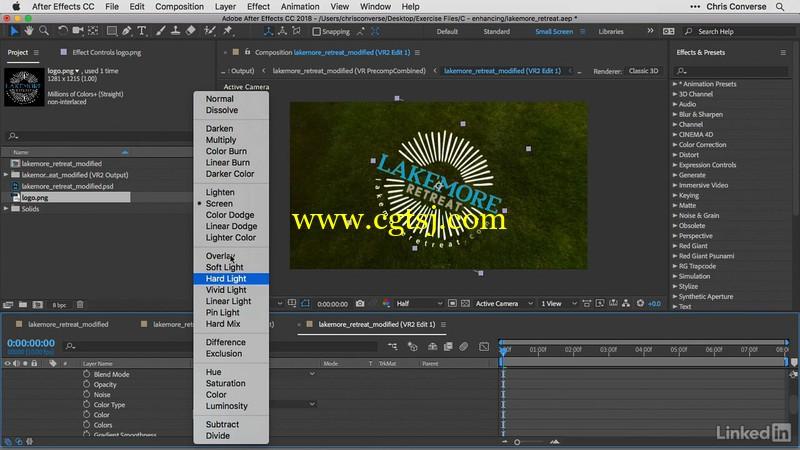 AE与PS全景球面360照片实例制作视频教程的图片1