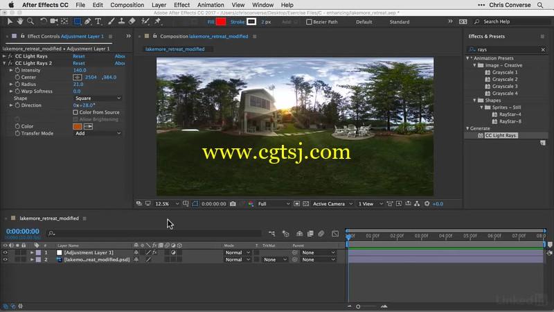 AE与PS全景球面360照片实例制作视频教程的图片3