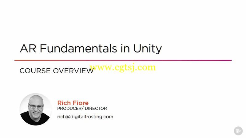 Unity中AR增强现实游戏制作技术视频教程的图片1
