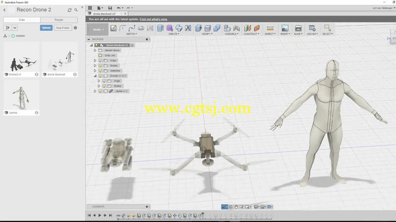 Fusion 360硬表面渲染与动画设计训练视频教程的图片1