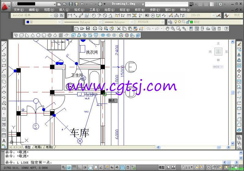>> autocad给排水·暖通空调·建筑电气设计与工程项目实战图片