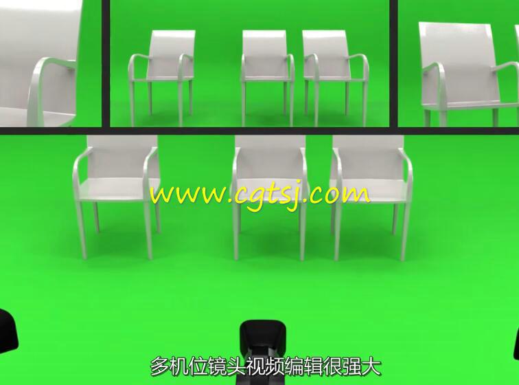 Premiere多机位镜头视频编辑训练视频教程(中文字幕)的图片2