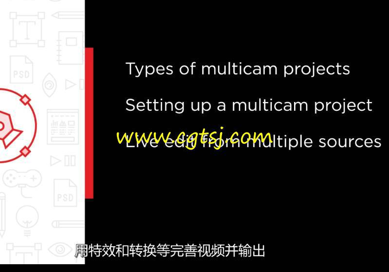 Premiere多机位镜头视频编辑训练视频教程(中文字幕)的图片5