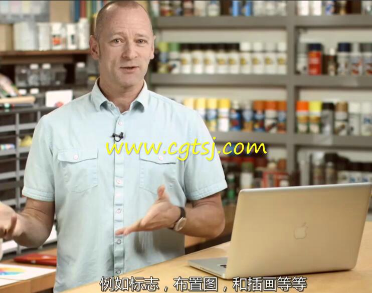 色彩的语言艺术设计大师级训练视频教程(中文字幕)的图片3